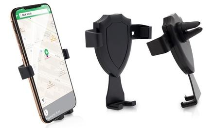 One, Two or Four Aquarius Car Gravity Air Vent Phone Holders