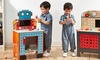 Little Engineer Wooden Workbench with Tool Set: Little Engineer Wooden Workbench with Tool Set