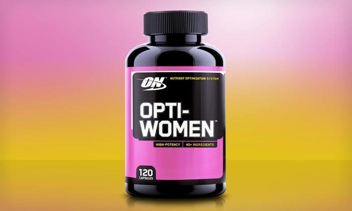 Optimum Nutrition Opti-Women Multivitamins: Two-Month Supply of Optimum Nutrition Opti-Women Multivitamins.