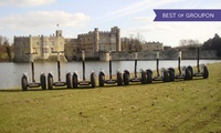 Leeds Castle Segway Adventure Tour Experience for Two with Southern Segway (61% Off)