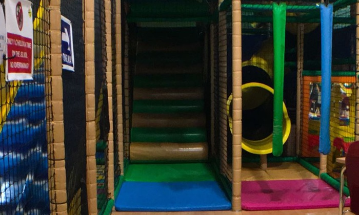 Fun Junction - Cheshunt: Soft Play Entry with a Soft Drink for Up to Four at Fun Junction (57% Off)