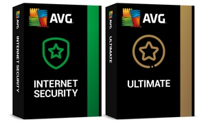 Logiciels AVG Internet Security ou Ultimate