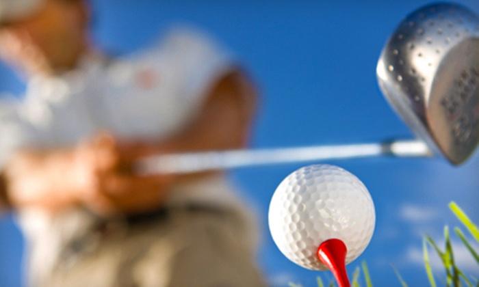 Hydeaway Golf Club - Tecumseh:  Nine Holes of Golf for Two or Four at Hydeaway Golf Club in Tecumseh (Up to 61% Off)