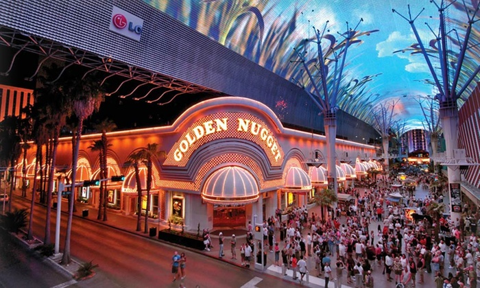 Golden Nugget Hotel - Las Vegas: Stay with Two Show Tickets and Golden Value Coupons at Golden Nugget Hotel in Las Vegas, with Dates into August.