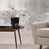 Mckenzie Fabric-Upholstered Retro-Modern Chair