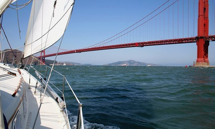 Three-Hour Sailing Trip for Two or Six from Golden Gate Sailing Tours (Up to 51% Off)