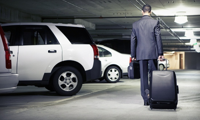 Park-N-Go Airport Parking - Vandalia: Three, Five, or Seven Days of Parking with Shuttle and Optional Car Wash at Park-N-Go Airport Parking (Up to 56% Off)