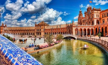 Sevilla: estancia en estudio para 2 personas con opción a niño gratis y parking incluido en apartamentos Simon Verde