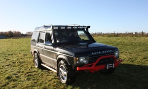 Wicked Adventures: Blindfolded Driving or Reverse Steer Land Rover Driving Experience for Two with Wicked Adventures (40% Off)
