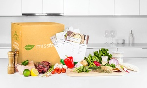 Missfresh: Home Delivery of Ready-to-Cook Meals for Two or Four with Recipes from MissFresh (Up to 54% Off)