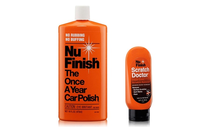 how to use nu finish scratch doctor