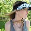 Sprigs Big-Brim Sun Visor Hat