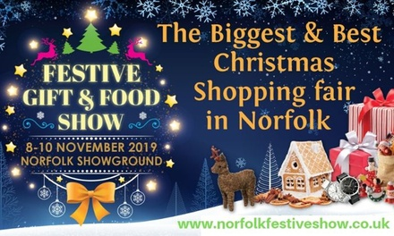 Norfolk Festive Gift and Food Show, Two or Four Tickets, 810 November