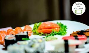 Made In Gastr'Bar: Made In Gastr'Bar –Vespasiano: combinado japonês com 40 ou 80 peças