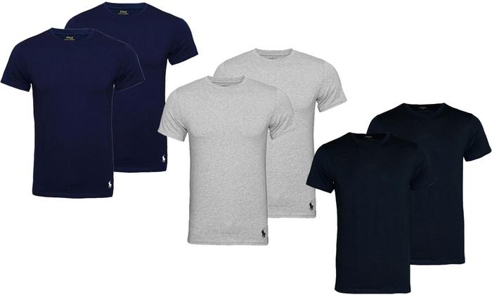 jusqu à 39% Pack 2 t-shirts Ralph Lauren   Groupon d0168b5131e5