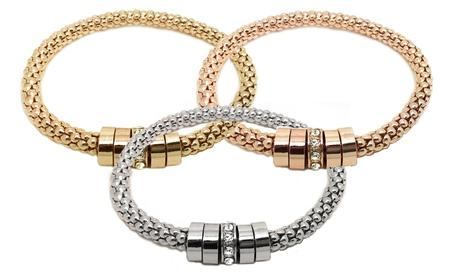 1 o 3 pulseras decoradas con cristales de Swarovski® desde 6,99 € Oferta en Groupon