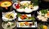 愛知/知多 夏の美食「鱧」を堪能/鱧しゃぶ、天ぷらなど絶品コース/1泊2食