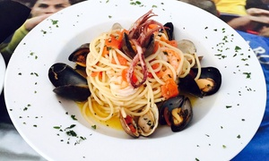 Gol: Pizza and Italian Food at Gol (Up to 53% Off). Two Options Available.