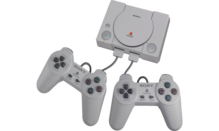 Sony PlayStation Classic Plug-and-Play Mini Console with 20 Built-In Games