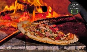 Raga Lanches: Raga Lanches - Betim: 1 ou 2 pizzas gigantes