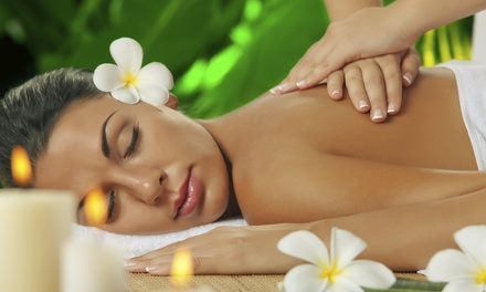 One-Hour Aromatherapy Massage, One-Hour Reflexology Session, or Both at Spa 34 (Up to 53% Off)