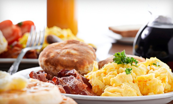 Dizzy G's Downtown - Congress Street,Downtown: Breakfast Biscuit Meal for Two or Four with Drinks at Dizzy G's Downtown (Up to 58% Off)