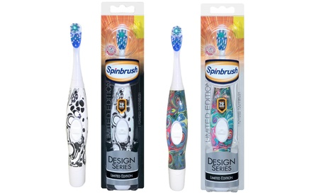 Arm and Hammer Spinbrush Design Series Battery-Powered Toothbrush 3592bf9a-3fdd-11e7-bcec-00259069d868