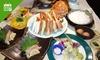 3,570円/名|かにの刺身、天ぷら、鍋など全7品
