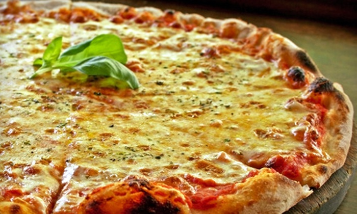 Baby Tommy's Taste of New York - Multiple Locations: $15 for a Pizza Meal for Four at Baby Tommy's Taste of New York ($32.10 Value)