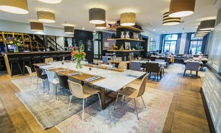 3gangen keuzediner voor 24 pers. bij Restaurant JOOST in hartje Amsterdam