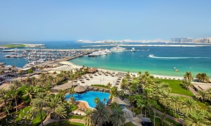 Latest Recipe @ Le Meridien Dubai Mina Seyahi Beach Resort & Marina: Beach and Pool Pass with BBQ Lunch Buffet for One or Two at 5* Le Meridien Mina Seyahi Beach Resort (Up to 41% Off)