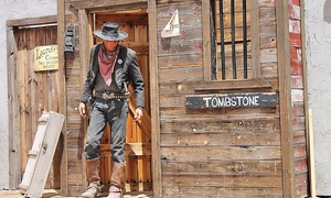 Old Tombstone Western Theme Park: Gunfight Show, Trolley Tour, & Mini Golf for 2, 4, or 6 at Old Tombstone Western Theme Park (Up to 57% Off)