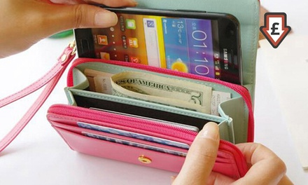 Smart Purse for Phone and Money