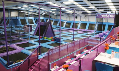 image for One-Hour Trampoline Park Access for Up to Four at Jump Nation – Runcorn (44% Off)