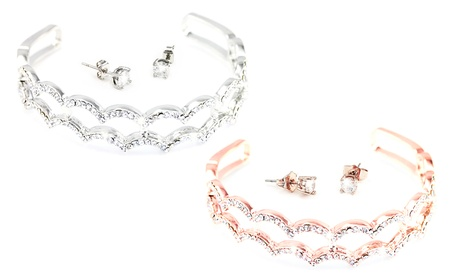 1 o 2 conjuntos de joyería Cecilia con cristales de Swarovski®