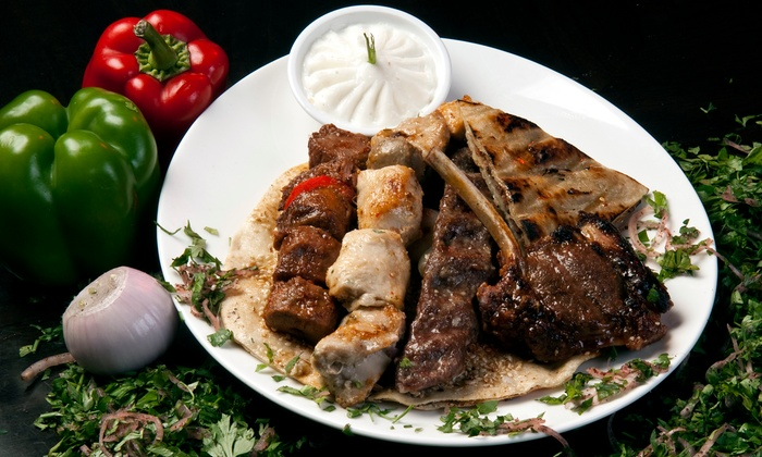 Moroccan Jannah - Calgary: Moroccan Cuisine at Moroccan Jannah (50% Off). Two Options Available.