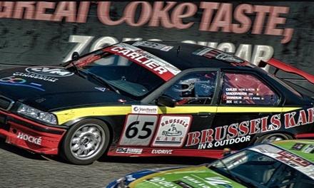 Tours comme co-pilote et pilote sur le circuit de Zolder une BMW E36 Rookie dès 149,99€