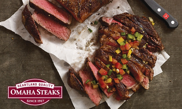 Omaha Steaks Stores - Multiple Locations: Holiday Packages from Omaha Steaks Stores (Up to 74% Off). Four Options Available.