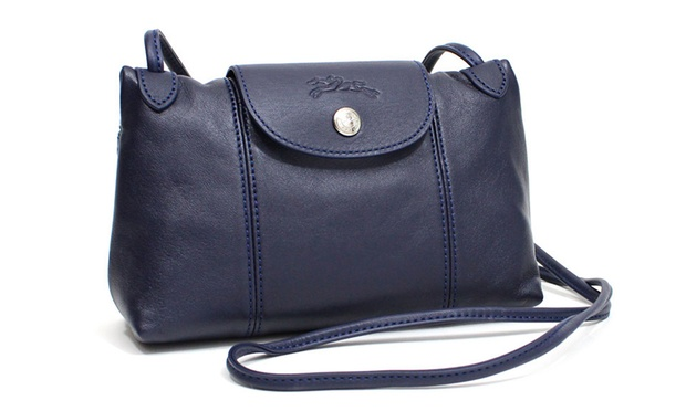 5095ea17e0fb  169 for a Longchamp Le Pliage Cuir Crossbody Bag