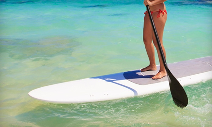 Maine Surfers Union - Downtown: Two-Hour or Full-Day Paddle Board Rental for Two at Maine Surfers Union (Up to 55% Off)