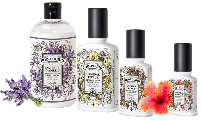 Poo Pourri Before You Go Toilet Spray Various Sizes