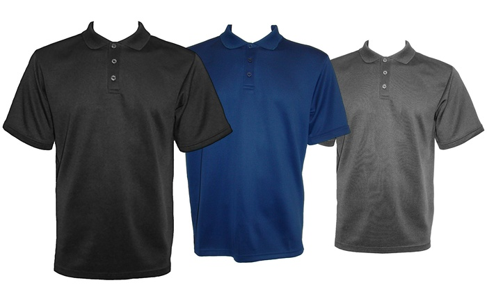 Victory Performance Men's Short Sleeve Stretch Polos