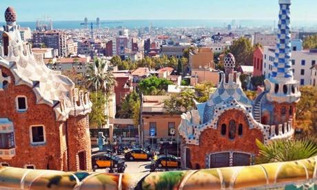 Barcelona: habitación doble con vistas y desayuno en Mercure Barcelona Condor
