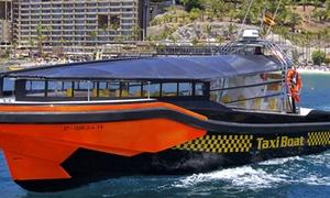 Taxiboat: Tour en barco y avistamiento de cetáceos con refresco o con comida y bebida para 2 o 4 desde 24,95 € en Taxiboat