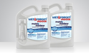 Wet & Forget Indoor Mold and Mildew Cleaner (2-Pack)