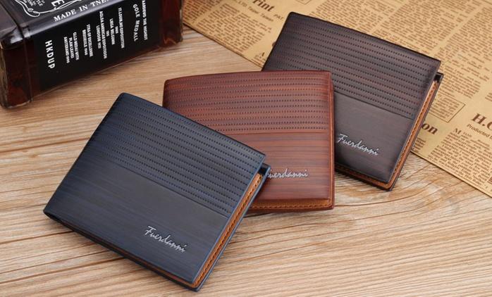 Porte-feuilles Fuerdanni en simili cuir, 3 coloris au choix, à 8,90€ (79% de réduction)