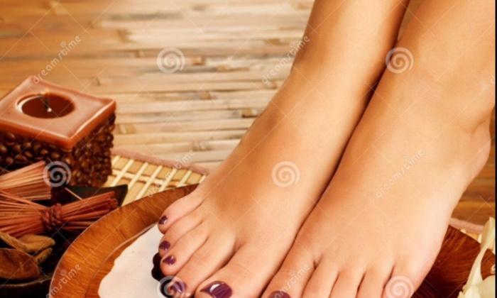 US Nails Spa - El Paso: Up to 52% Off Shellac Manicure and Pedicures at US Nails Spa