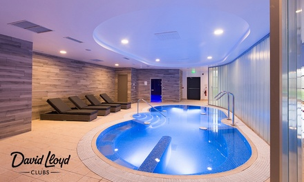 One Month Gym And Spa David Lloyd Groupon