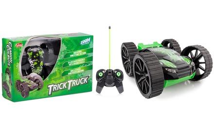 1 of 2 op afstand bestuurbare Trick Truckauto's