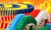 Juego de dominó colorido